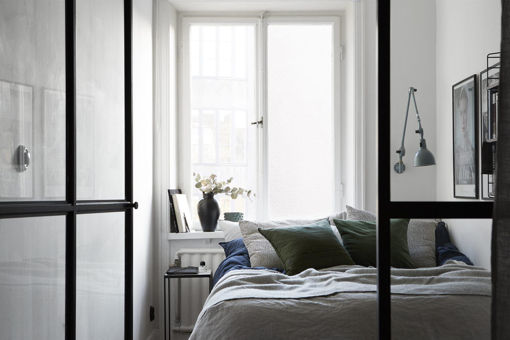 Межкомнатная перегородка в спальне
