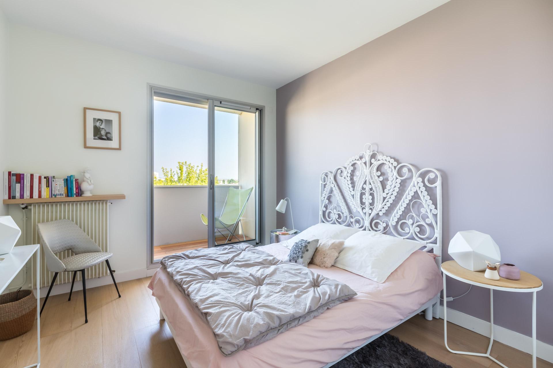 Однокомнатная квартира 40 кв м спальня