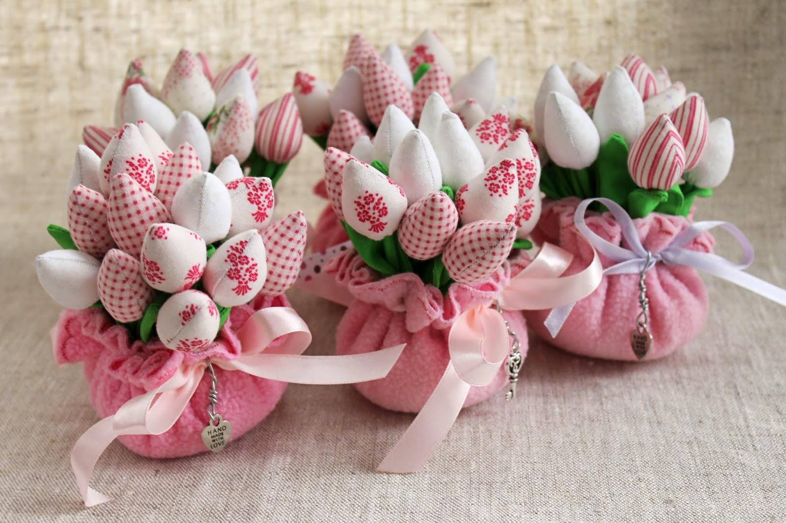 Подарок на 8 марта своими руками текстильный