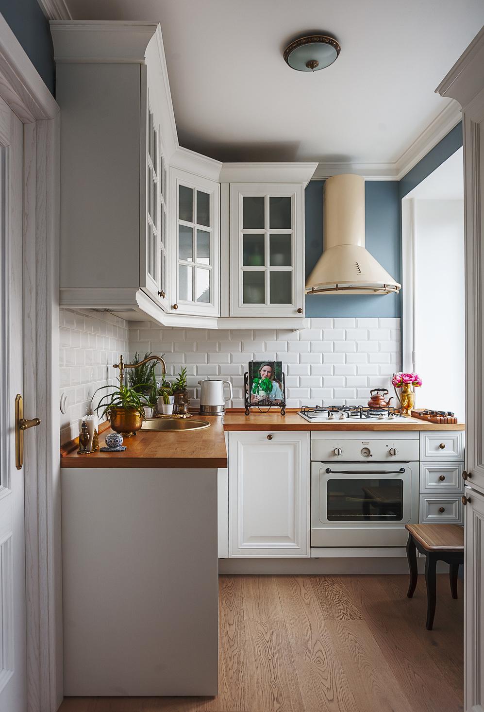 Однокомнатная хрущевка с угловой кухней