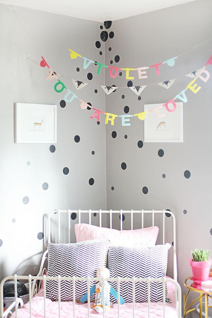 Декор угла детской комнаты