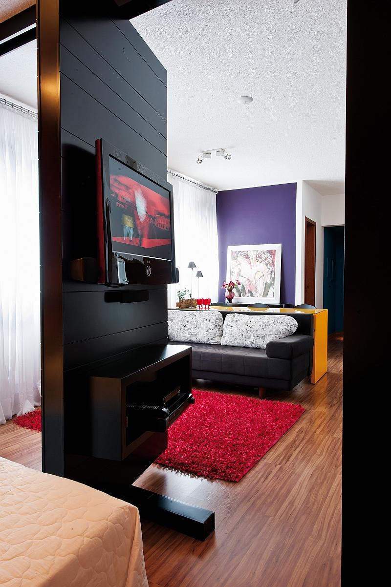 Однокомнатная квартира 40 кв м зонирование