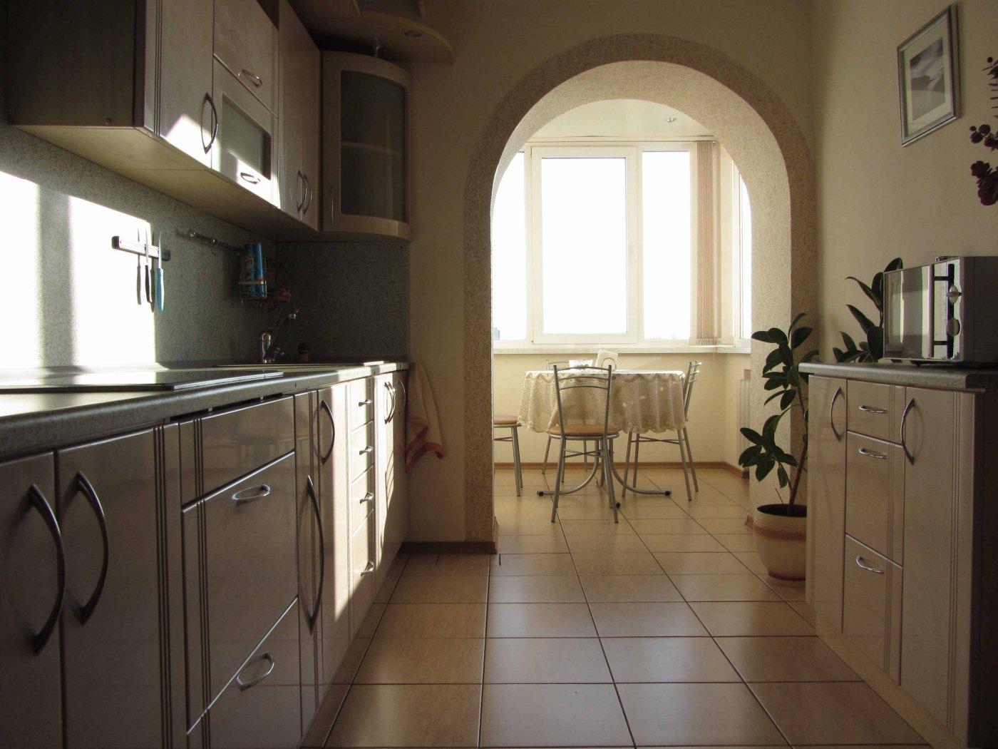 Перепланировка кухни с аркой