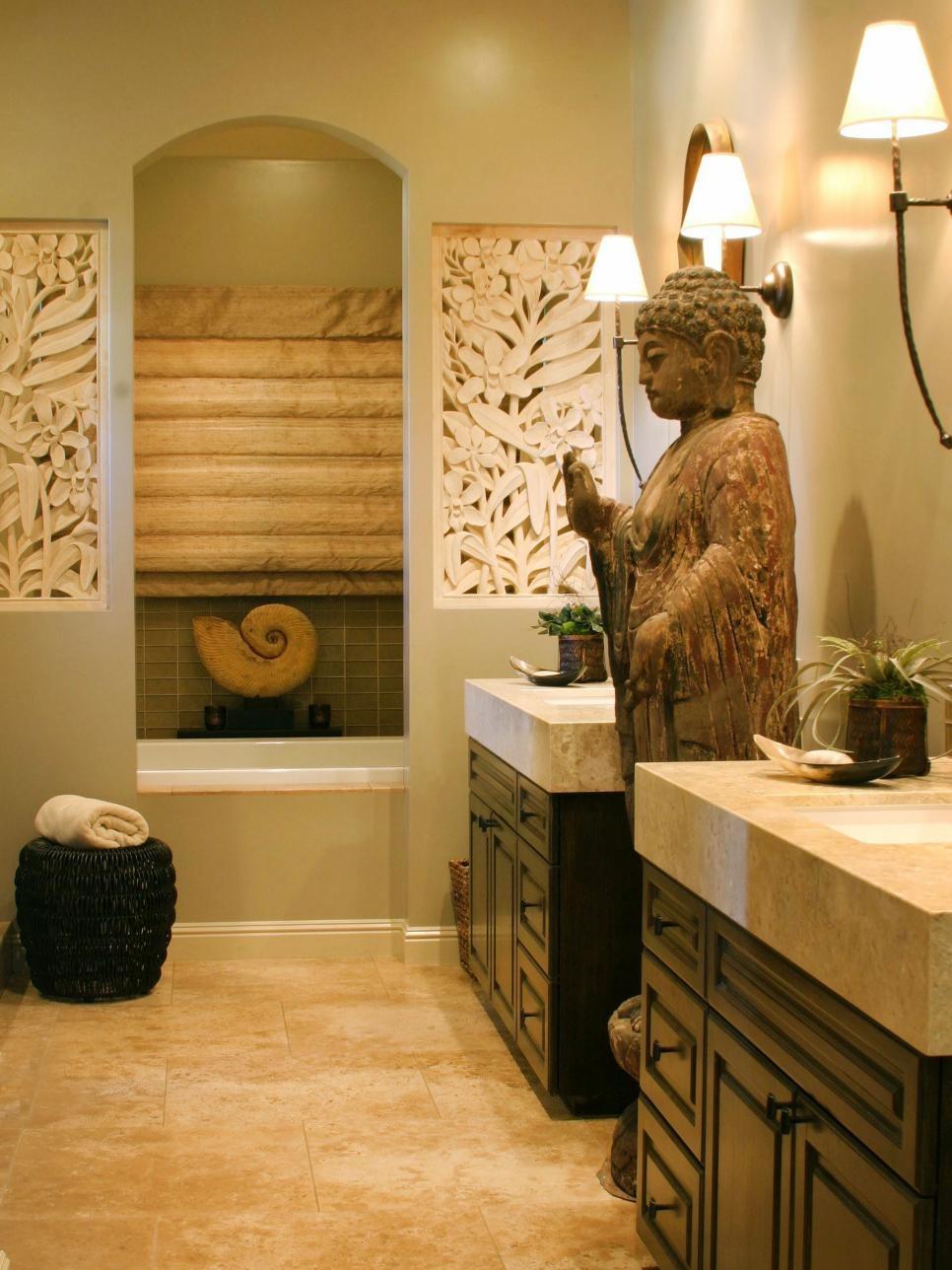 Однокомнатная квартира в японском стиле ванная