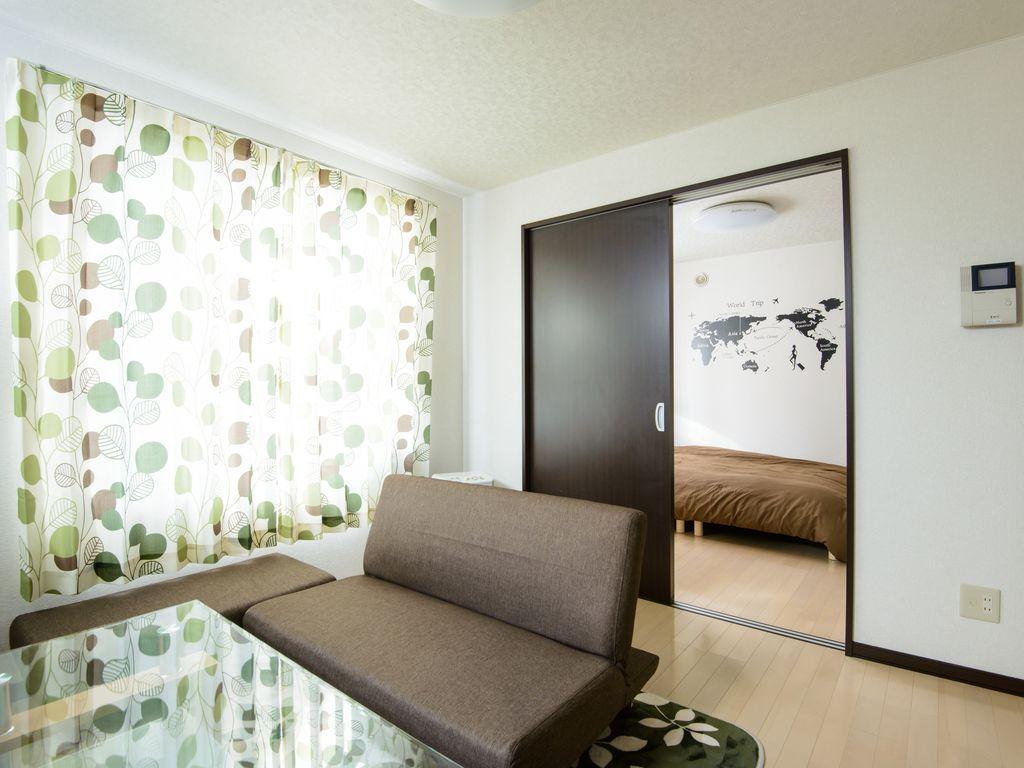 Однокомнатная квартира интерьер в японском стиле