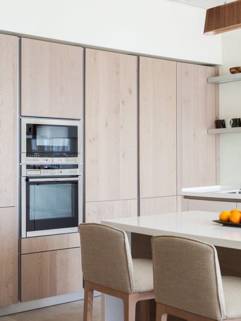 Кухня в японском стиле в однокомнатной квартире