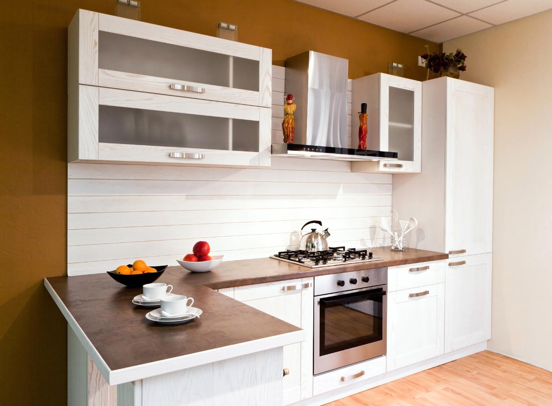 Перепланировка кухни белой