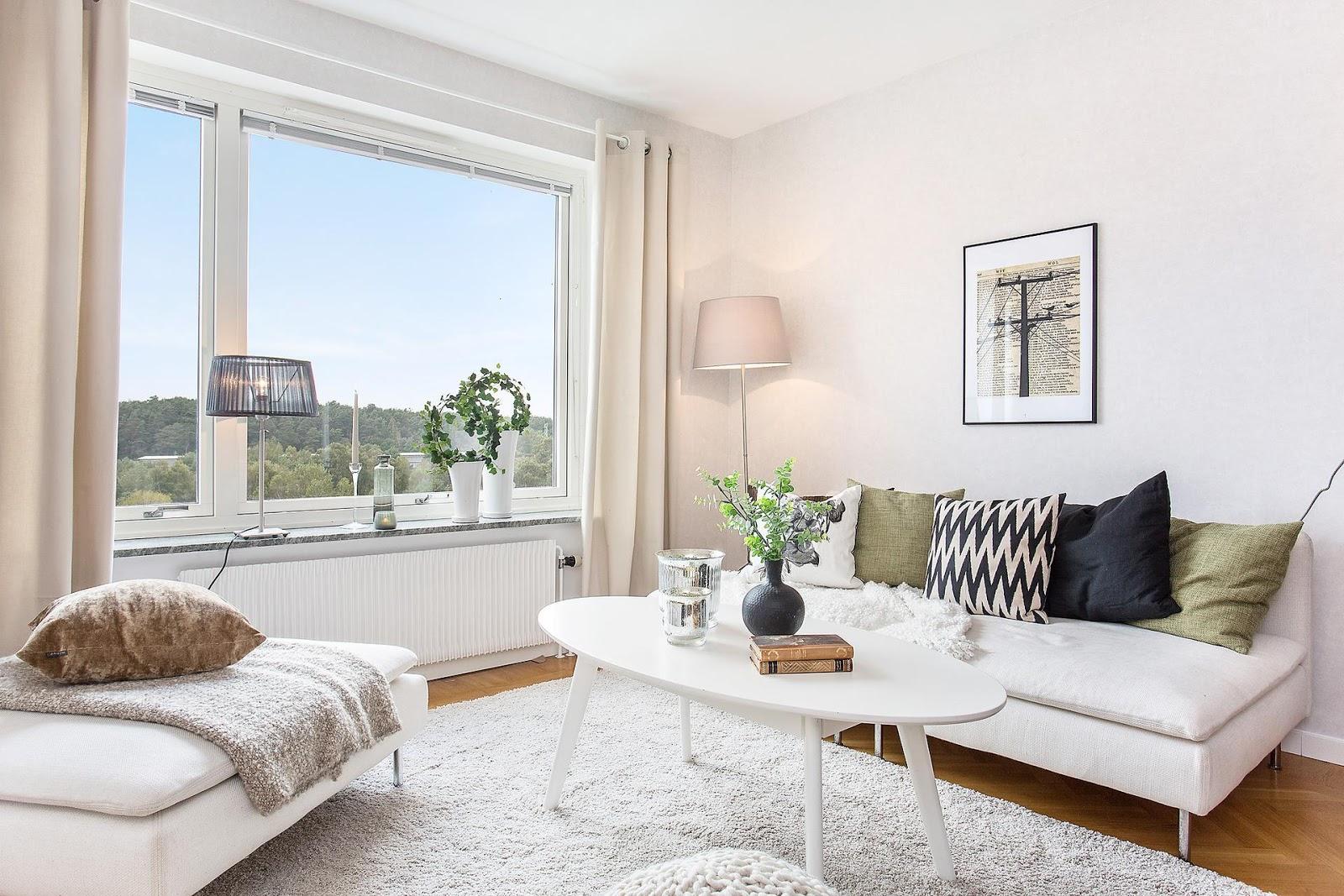 Стили однокомнатных квартир с декором