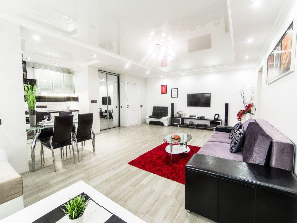 Однокомнатная квартира в стиле хай тек