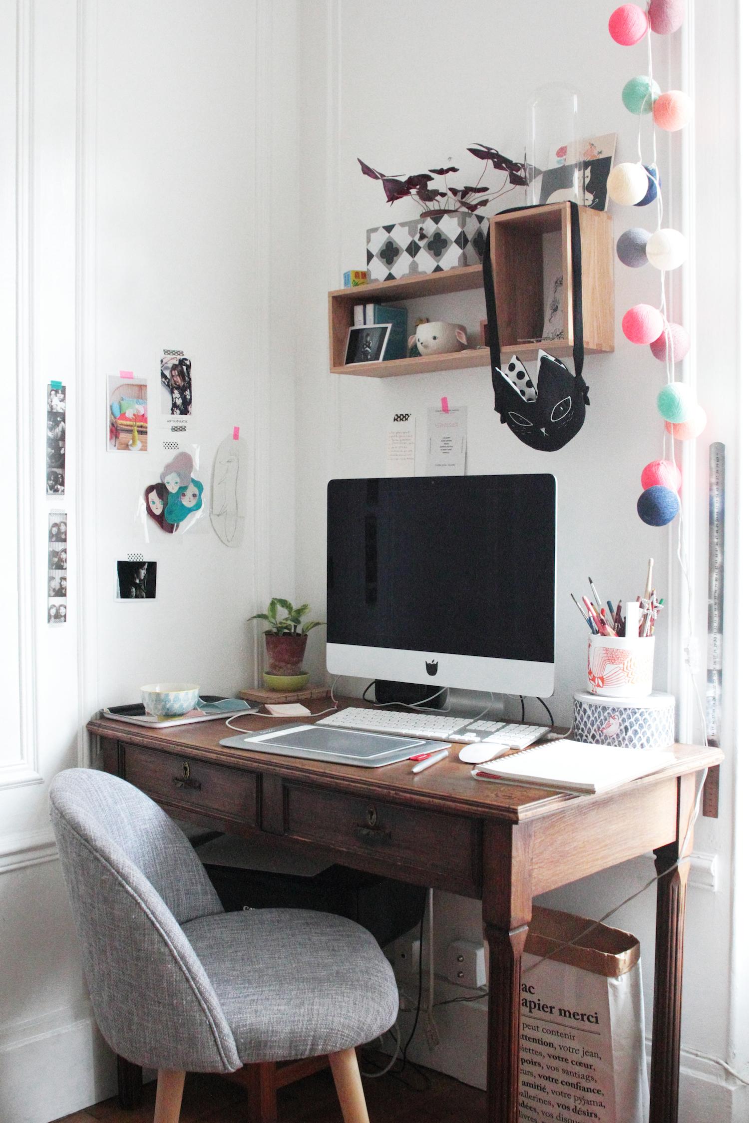 Рабочее место дома идеи