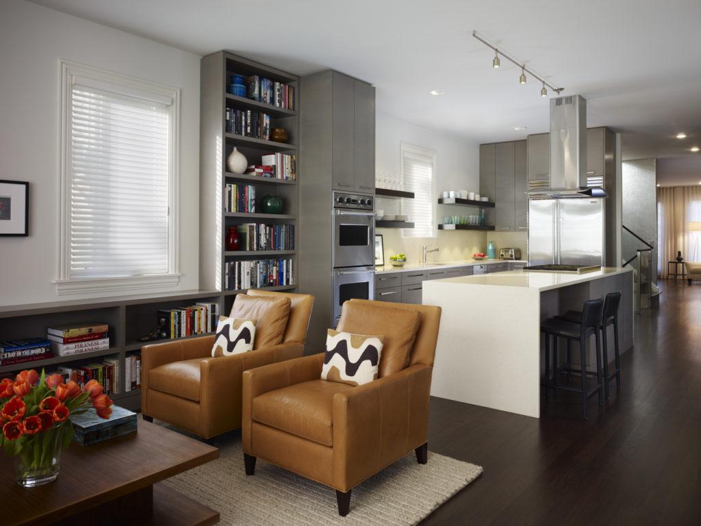 Перепланировка кухни с кабинетом