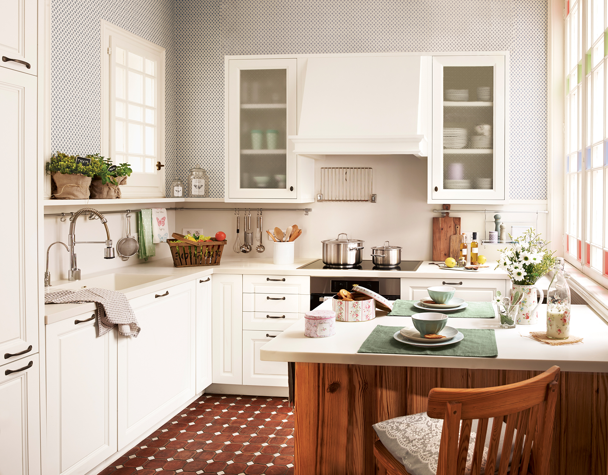Перепланировка кухни красивая