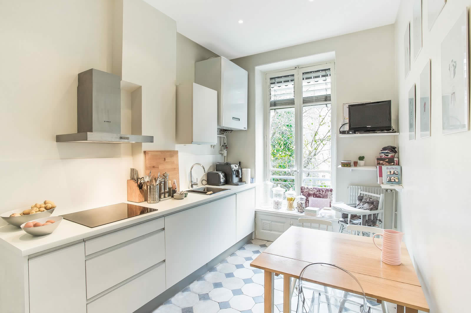 Стили однокомнатных квартир кухни