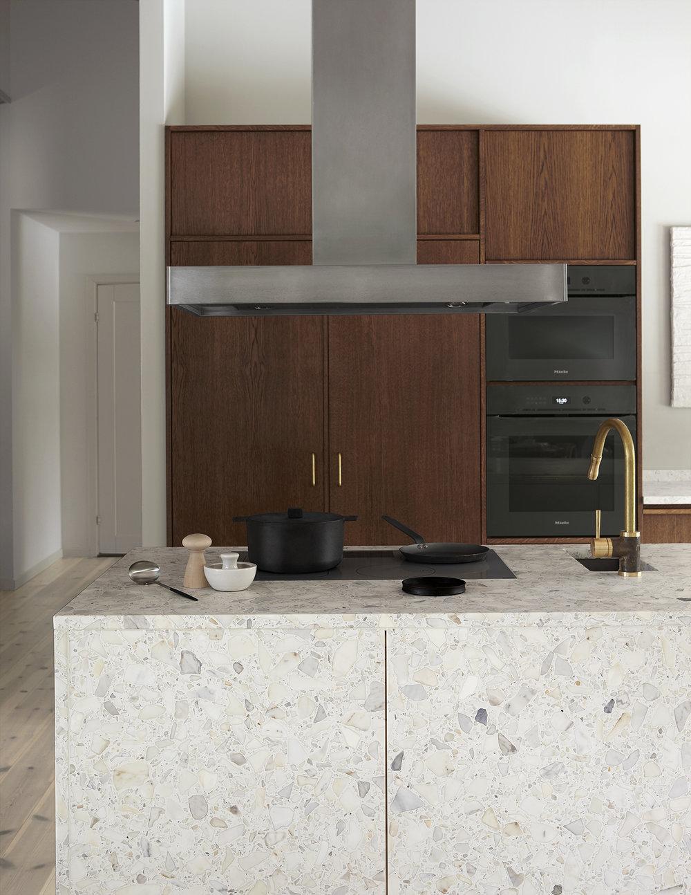 Перепланировка кухни с мебелью