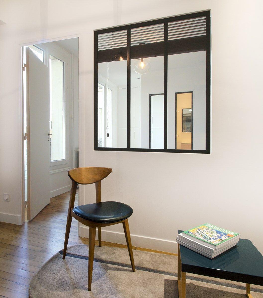Однокомнатная квартира в стиле минимализм монохромная