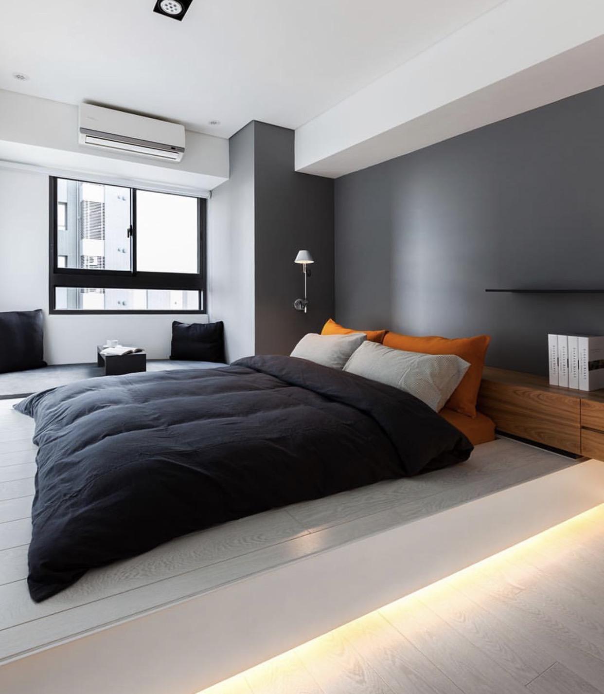 Однокомнатная квартира в стиле минимализм с подсветкой