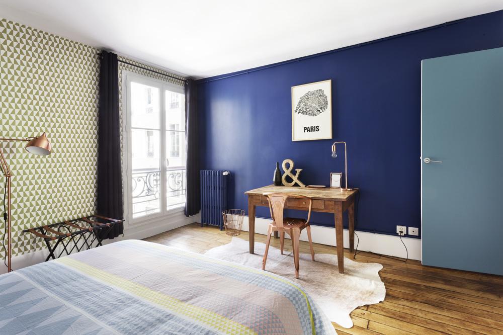 Однокомнатная квартира в стиле модерн цвета