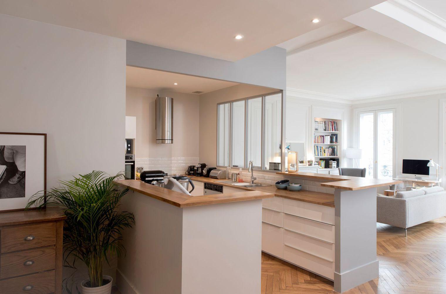 Перепланировка кухни с панелями