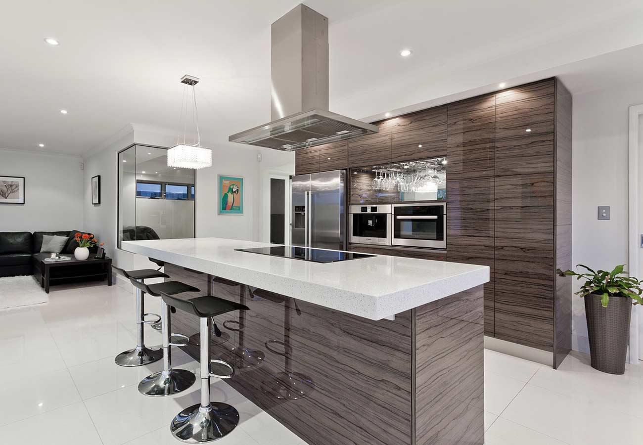 Перепланировка кухни в помещении