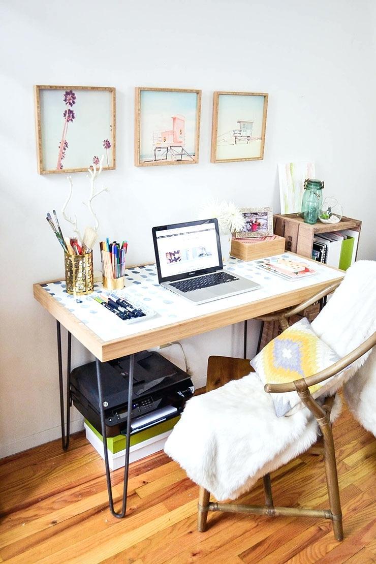 Рабочее место дома примеры