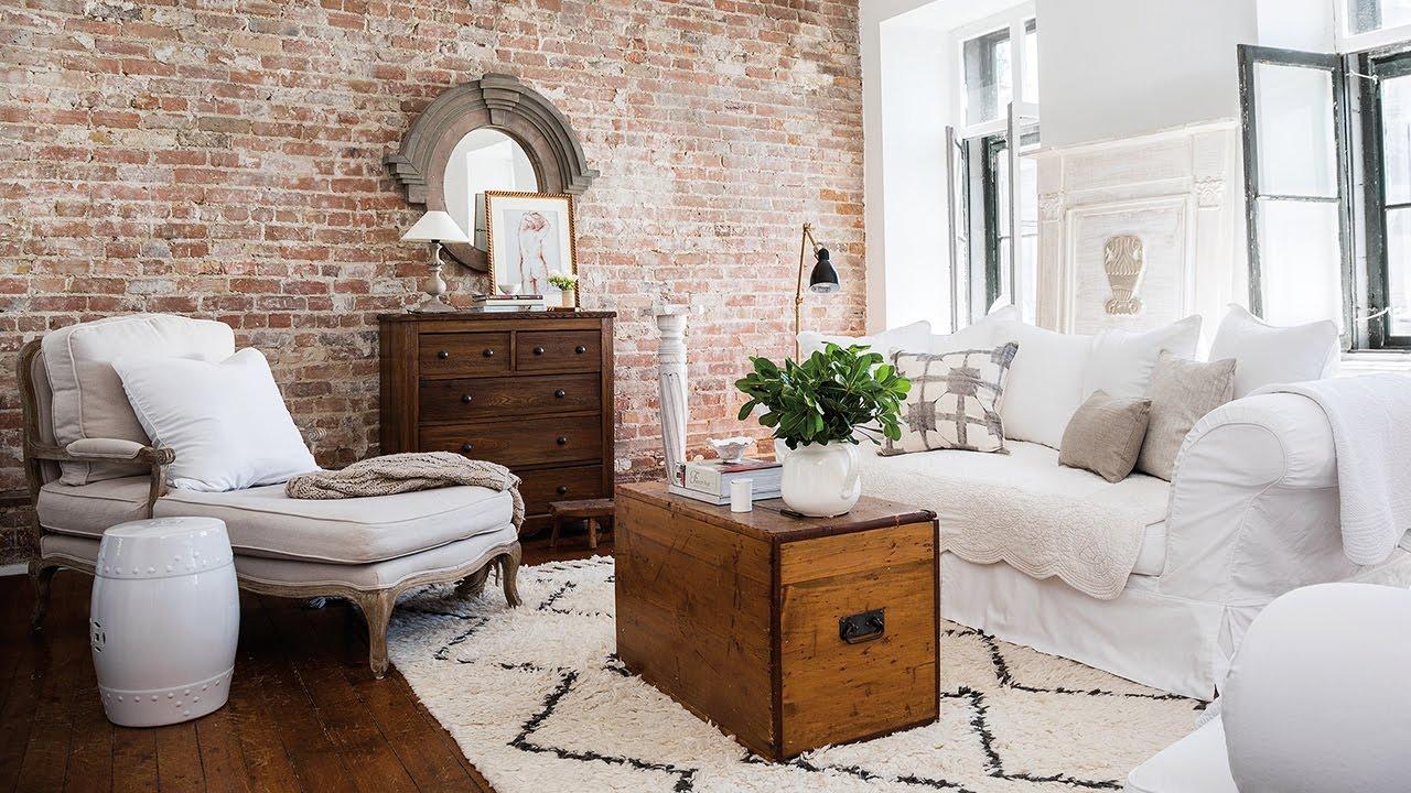 Однокомнатная квартира с гостиной в стиле прованс