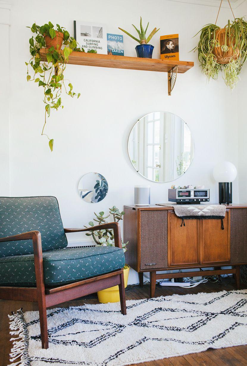Стили однокомнатных квартир мебель в стиле ретро