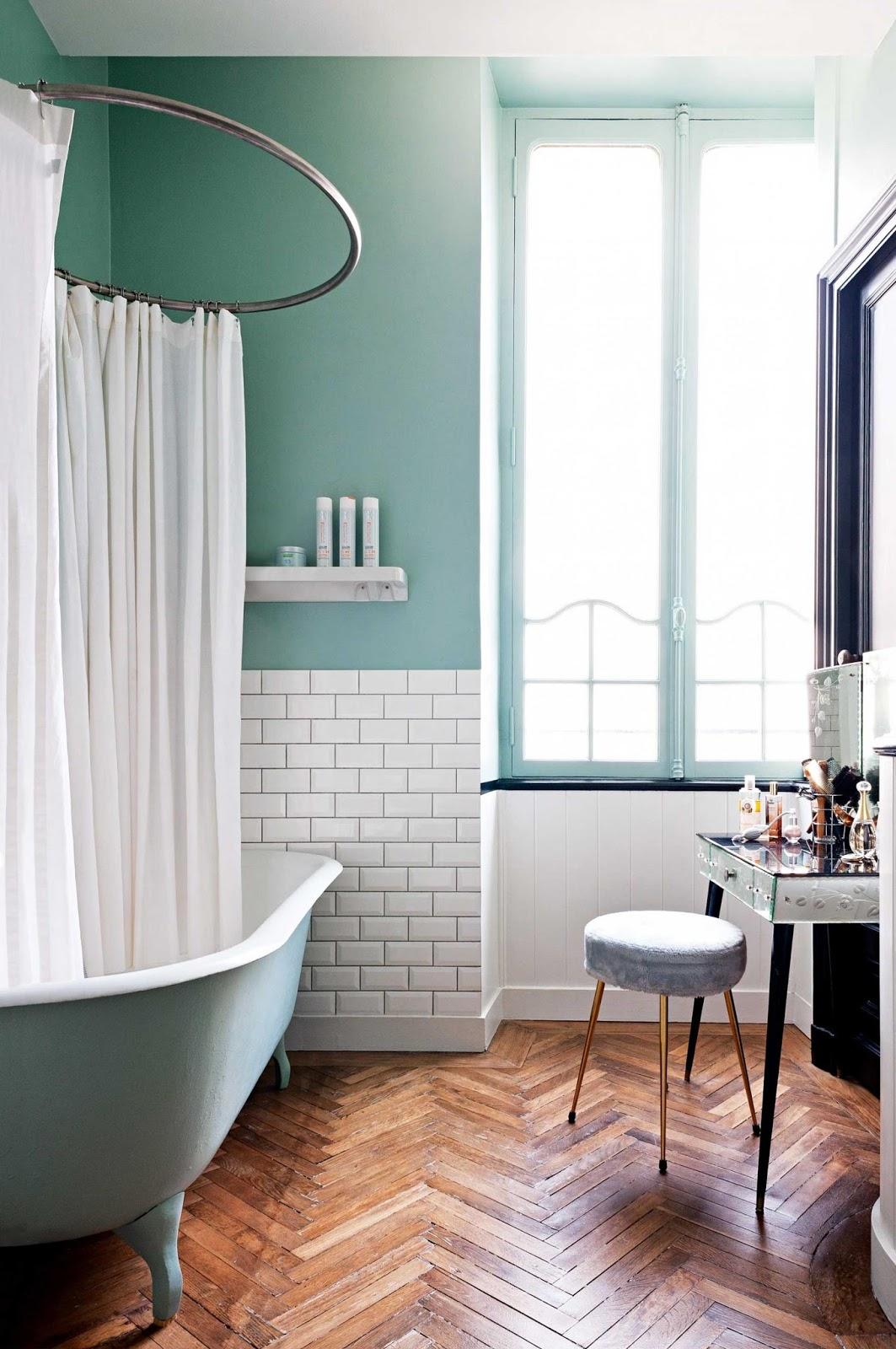Стили однокомнатных квартир ванная в стиле ретро