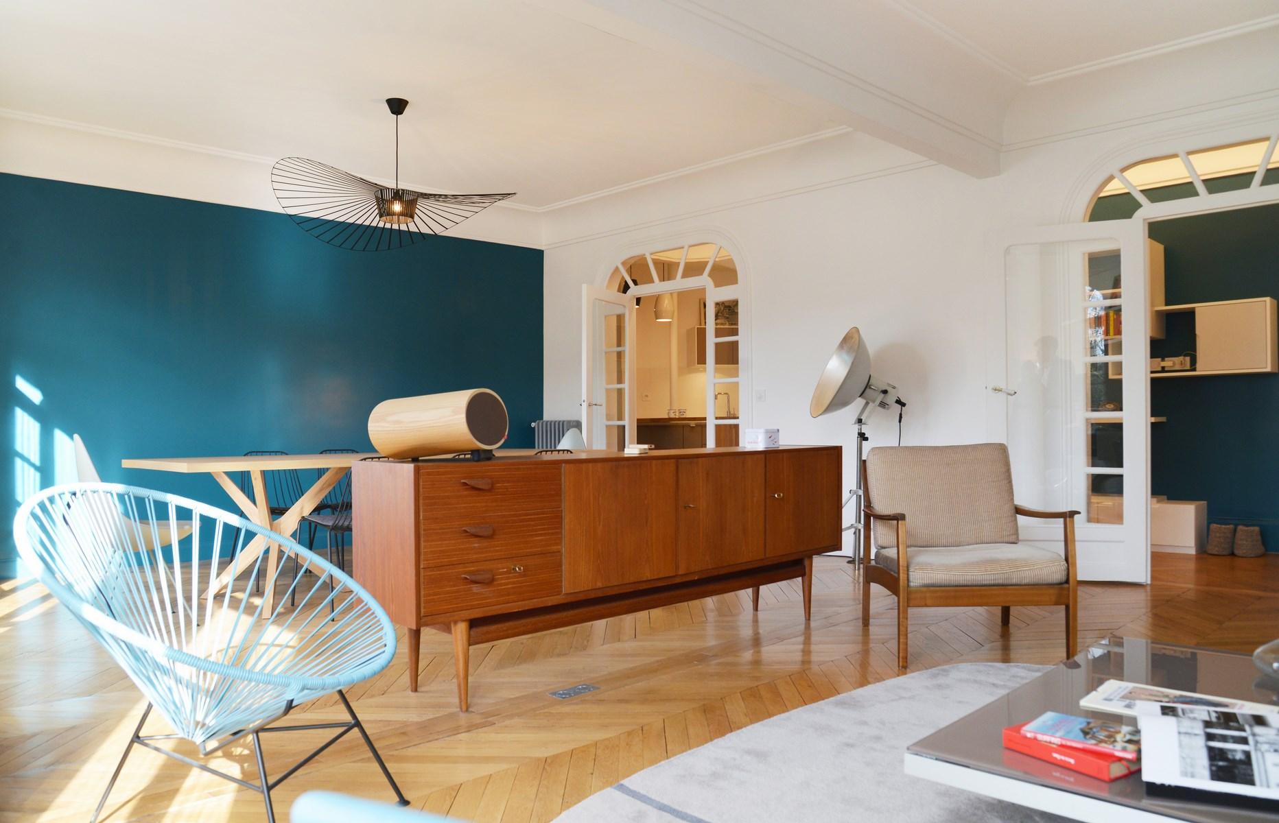 Однокомнатная квартира в стиле ретро