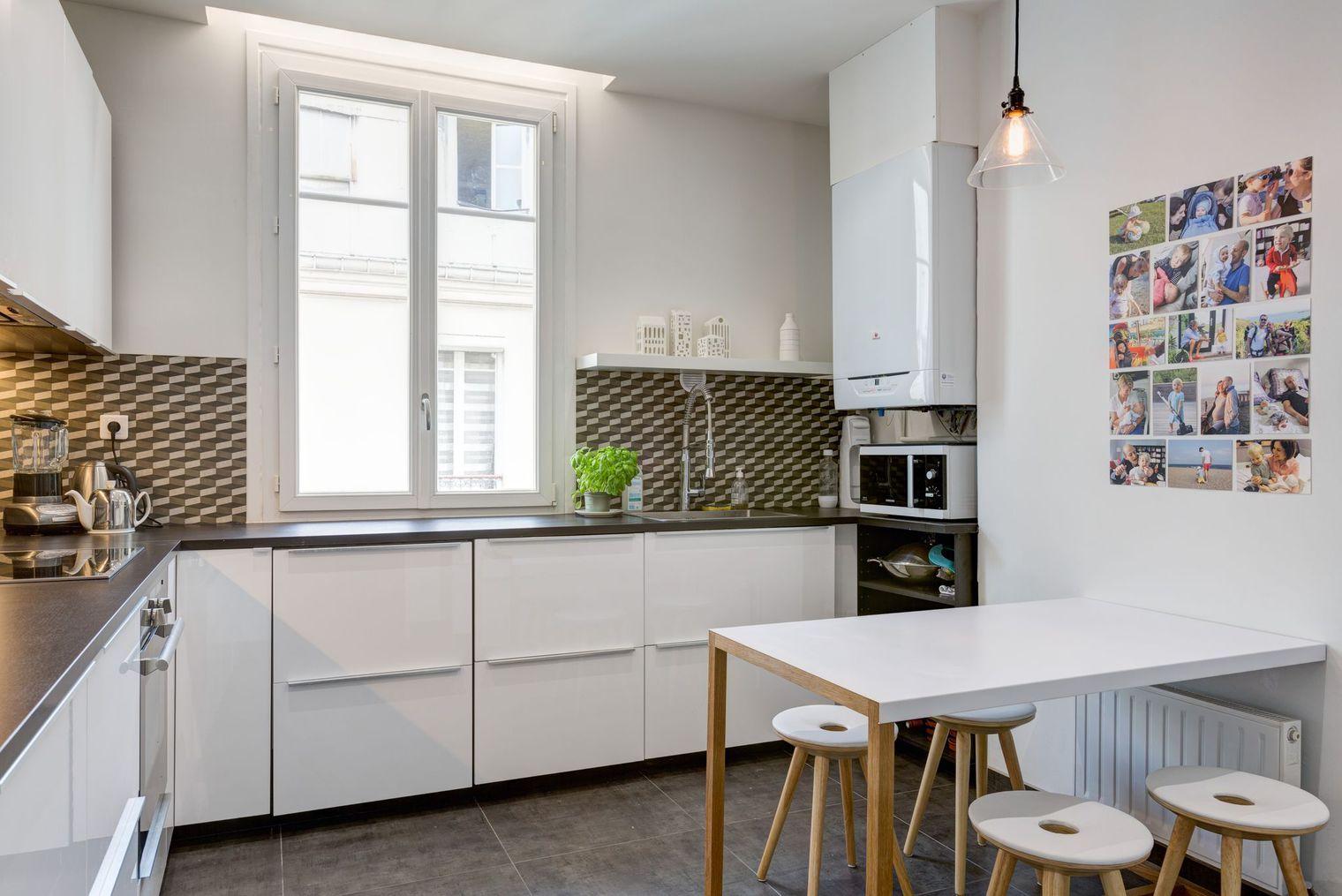 Перепланировка кухни в скандинавском стиле