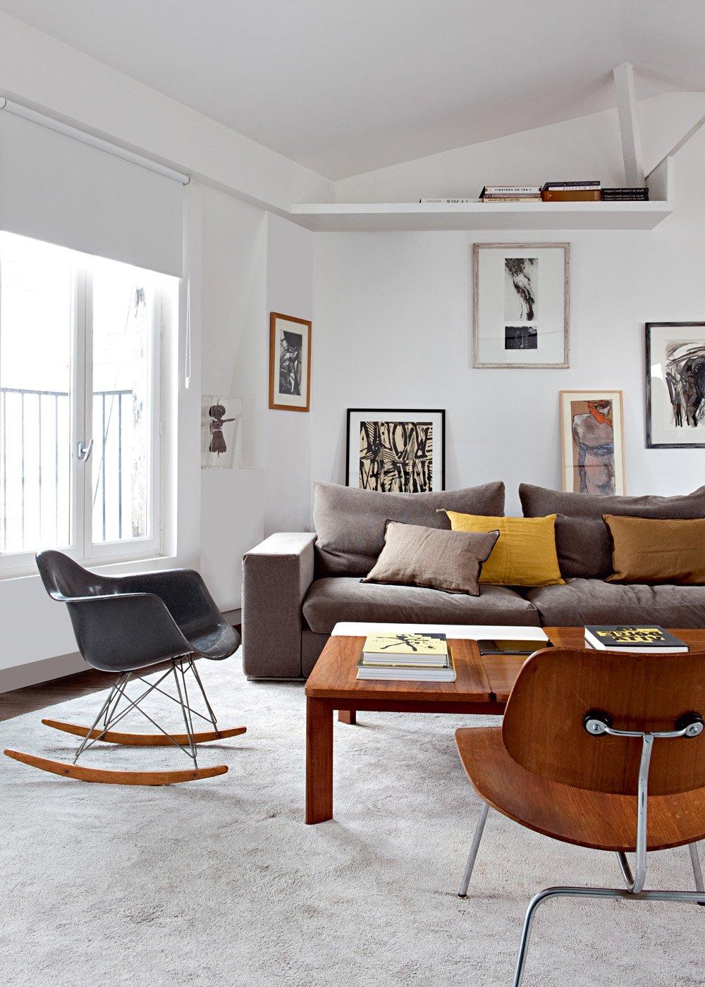 Однокомнатная квартира с мебелью в скандинавском стиле