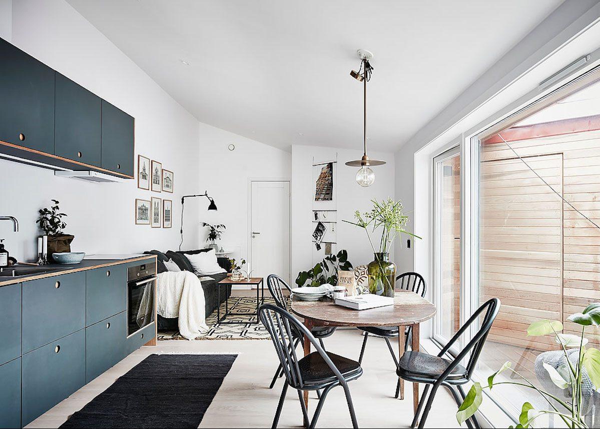 Стили однокомнатных квартир студий