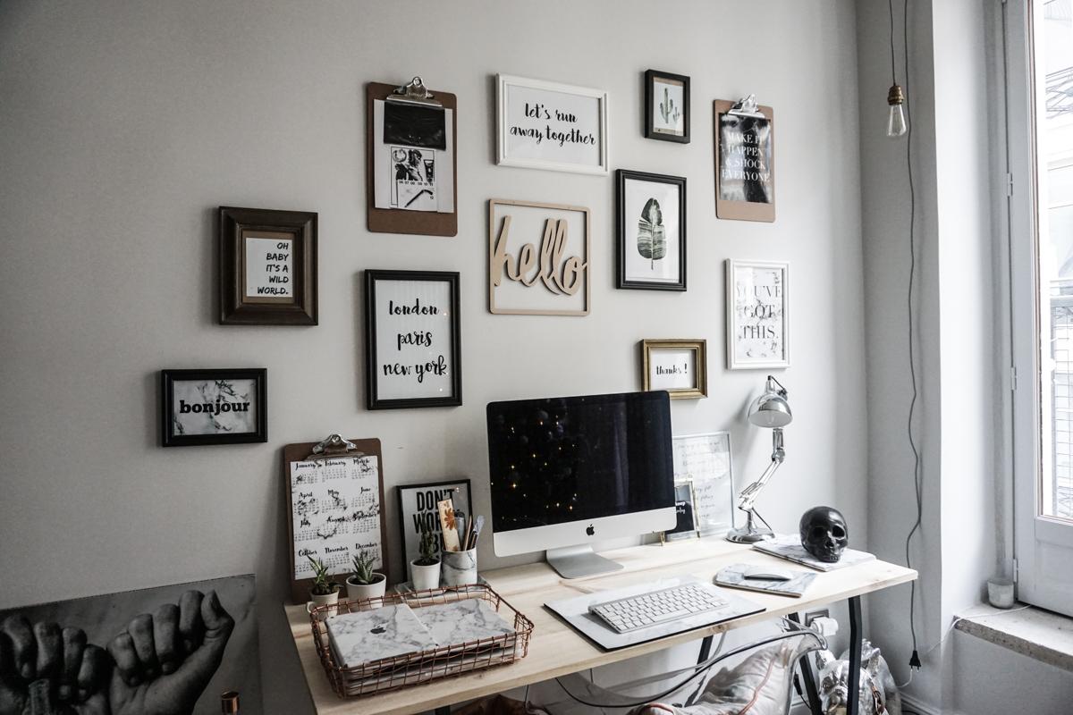 Обустраиваем рабочее место дома: секреты организации пространства (77 фото)