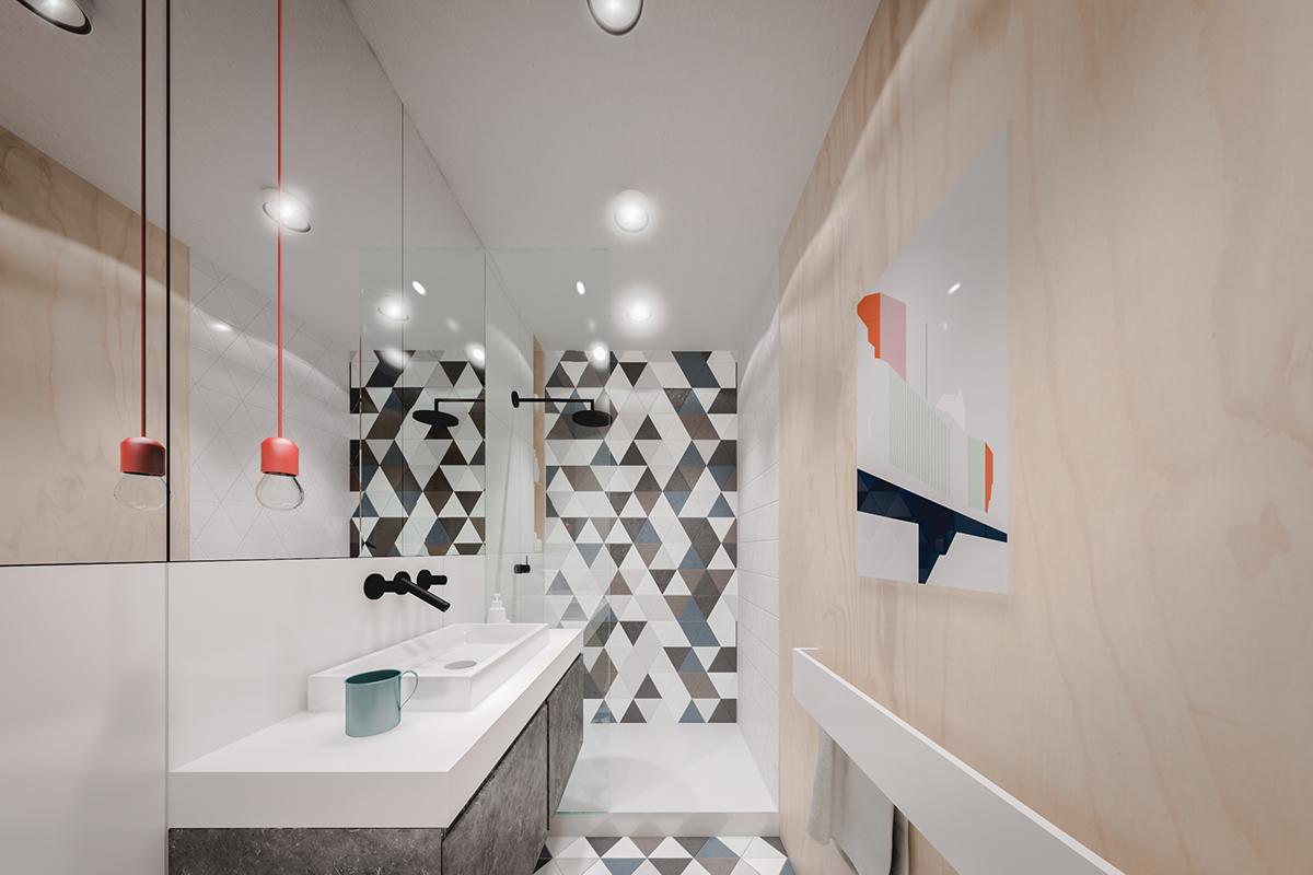 Стили однокомнатных квартир с ванной
