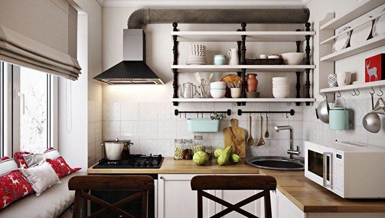 Красивая кухня с минимальными затратами