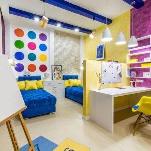 Освещение в интерьере детской комнаты. Советы и рекомендации
