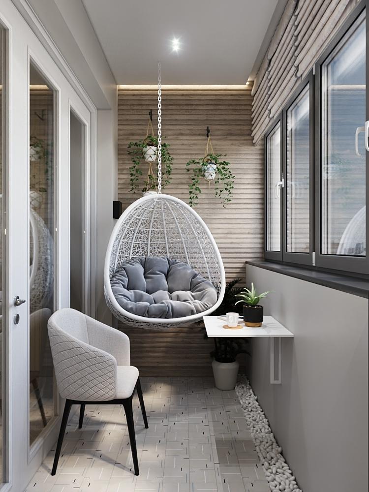 Уютная лаунж-зона в квартире: интересные дизайнерские решения
