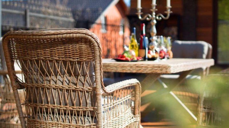Как чистить мебель и корзины из лозы, бамбука и ротанга?
